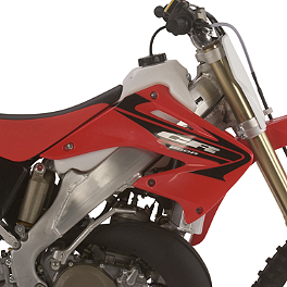 IMS Gas Tank - 2.7 Gallons Natural - 2012 Honda CRF250R IMS Super Stock Footpegs