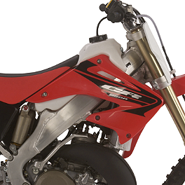 IMS Gas Tank - 2.6 Gallons Natural - 2006 Honda CRF250X IMS Super Stock Footpegs