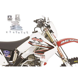 IMS Gas Tank Retro Kit For CRF250X - 2007 Honda CRF250X IMS Super Stock Footpegs