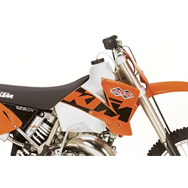 IMS Gas Tank - 3.1 Gallons Natural - 2005 KTM 450MXC IMS Super Stock Footpegs