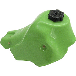 IMS Gas Tank - 3.6 Gallons Green - 1988 Kawasaki KX500 IMS Super Stock Footpegs