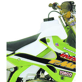 IMS Gas Tank - 2.4 Gallons Natural - 1999 Kawasaki KX80 IMS Super Stock Footpegs