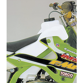 IMS Gas Tank - 2.7 Gallons Natural - 2009 Kawasaki KX450F IMS Pro Series 4 Motorcycle Footpegs
