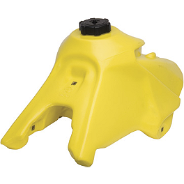 IMS Gas Tank - 3.4 Gallons Yellow - 2007 Suzuki RM125 Clarke Gas Tank