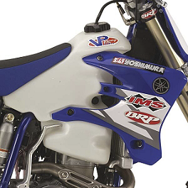 IMS Gas Tank - 3.1 Gallons Natural - 2008 Yamaha WR450F Acerbis Gas Tank 3.3 Gallons - Blue