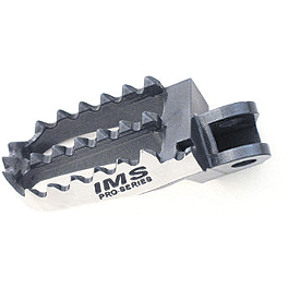 IMS Pro Series 4 Motorcycle Footpegs - IMS Gas Tank - 3.2 Gallons Natural