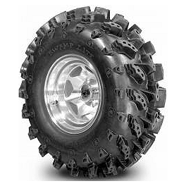 Interco Swamp Lite ATV Tire - 28x10-12 - 2007 Polaris HAWKEYE 300 2X4 Interco Swamp Lite ATV Tire - 25x10-11