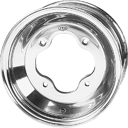 ITP T-9 Pro Front Wheel - 10X5 3B+2N - 2010 Yamaha RAPTOR 700 ITP T-9 GP Front Wheel - 3B+2N 10X5 Polished
