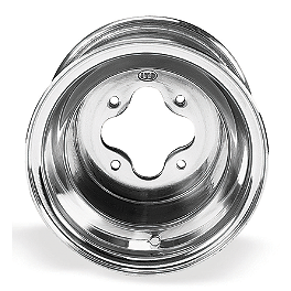 ITP T-9 Pro Rear Wheel - 9X9 3B+6N - 2010 Yamaha RAPTOR 700 ITP T-9 GP Front Wheel - 3B+2N 10X5 Polished