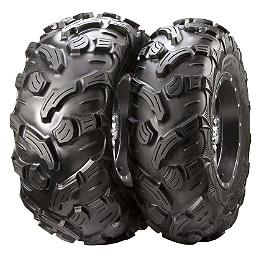 ITP 900 XCT Front Tire - 27x11-12 - 1992 Yamaha TIMBERWOLF 250 2X4 ITP SS112 Sport Front Wheel - 10X5 3+2 Machined