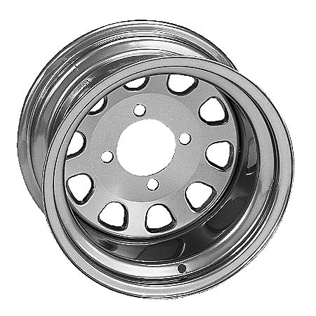 ITP Delta Steel Rear Wheel - 12X7 Silver - Main