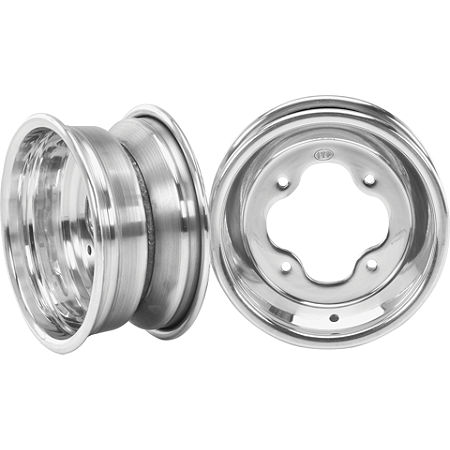 ITP T-9 GP Front Wheel - 10X5 3B+2N Polished - Main