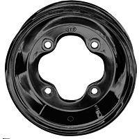 ITP T-9 GP Front Wheel - 10X5 3B+2N Black