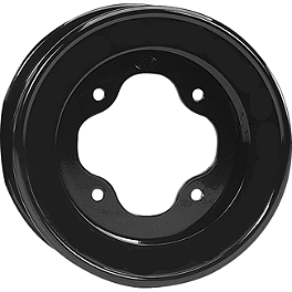 ITP T-9 GP Rear Wheel - 9X8 3B+5N Black - 2010 Can-Am DS450 ITP Sandstar Front Tire - 21x7-10