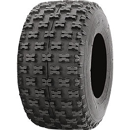 ITP Holeshot ATV Rear Tire - 20x11-10 - 2005 Yamaha YFM 80 / RAPTOR 80 ITP Quadcross XC Front Tire - 22x7-10