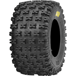 ITP Holeshot H-D Rear Tire - 20x11-9 - 2007 Honda TRX450R (ELECTRIC START) ITP Quadcross XC Front Tire - 22x7-10