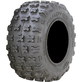 ITP Holeshot GNCC ATV Rear Tire - 20x10-9 - 1996 Yamaha WARRIOR ITP T-9 GP Front Wheel - 10X5 3B+2N Black