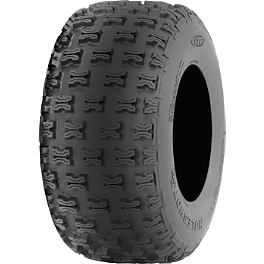 ITP Holeshot SR Rear Tire - 20x10-9 - 2006 Honda TRX450R (KICK START) ITP Quadcross XC Front Tire - 22x7-10