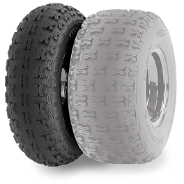 ITP Holeshot SR Front Tire - 21x7-10 - 2001 Polaris SCRAMBLER 400 2X4 ITP Sandstar Rear Paddle Tire - 18x9.5-8 - Left Rear