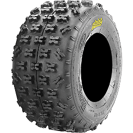ITP Holeshot XCR Rear Tire 20x11-9 - 2004 Yamaha YFZ450 ITP T-9 GP Front Wheel - 10X5 3B+2N Black