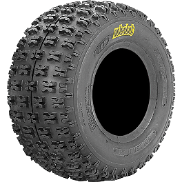 ITP Holeshot XC ATV Rear Tire - 20x11-9 - 2000 Yamaha WARRIOR ITP T-9 GP Front Wheel - 10X5 3B+2N Black