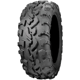 ITP Bajacross ATV Tire - 25x10-12 - 1995 Yamaha TIMBERWOLF 250 2X4 ITP SS112 Sport Rear Wheel - 9X8 3+5 Black