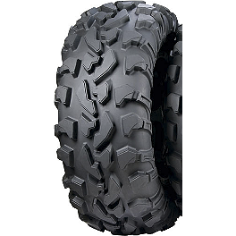 ITP Bajacross Rear Tire - 28x10-14 - 1999 Yamaha TIMBERWOLF 250 4X4 ITP SS112 Sport Rear Wheel - 9X8 3+5 Black