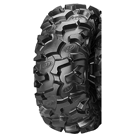 ITP Black Water Evolution Rear Tire - 25x11R-12 - 2001 Yamaha BEAR TRACKER ITP T-9 Pro Baja Rear Wheel - 9X9 3B+6N