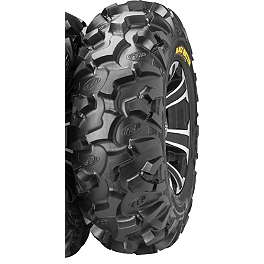 ITP Black Water Evolution Front Tire - 25x9R-12 - 2011 Honda TRX250 RECON ITP SS312 Front Wheel- 12X7 Machined Black