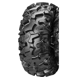 ITP Black Water Evolution Rear Tire - 26x11R-12 - 1998 Yamaha TIMBERWOLF 250 2X4 ITP Black Water Evolution Front Tire - 27x9R-12