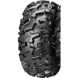 ITP Black Water Evolution Rear Tire - 27x11R-12 - 1996 Yamaha TIMBERWOLF 250 4X4 ITP T-9 Pro Baja Rear Wheel - 8X8.5 Black