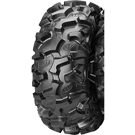 ITP Black Water Evolution Rear Tire - 27x11R-14 - 2001 Yamaha BEAR TRACKER ITP SS112 Sport Rear Wheel - 10X8 3+5 Machined