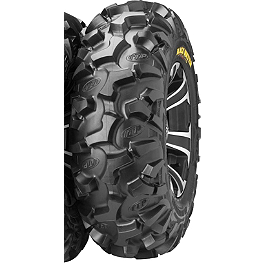 ITP Black Water Evolution Front Tire - 27x9R-12 - 2006 Kawasaki BRUTE FORCE 750 4X4i (IRS) ITP Sandstar Rear Paddle Tire - 26x11-12 - Right Rear