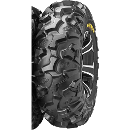 ITP Black Water Evolution Front Tire - 27x9R-14 - ITP SS312 Front Wheel - 14X6 Machined Black