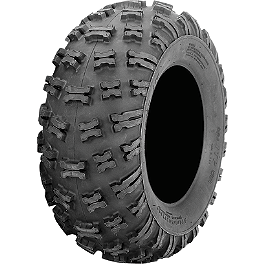 ITP Holeshot ATR Tire - 25x8-12 - 1990 Honda TRX200 ITP T-9 Pro Baja Rear Wheel - 8X8.5 Black