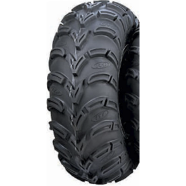 ITP Mud Lite AT Front / Rear Tire - 27x12-10 - 1996 Yamaha TIMBERWOLF 250 4X4 ITP T-9 GP Rear Wheel - 10X8 3B+5N Polished