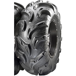 ITP Mayhem Front / Rear Tire - 25x10-12 - 1992 Honda TRX200D ITP T-9 Pro Baja Rear Wheel - 8X8.5 Black
