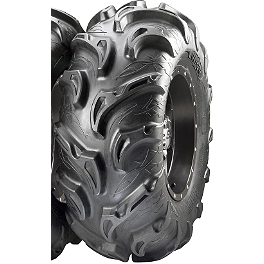 ITP Mayhem Front / Rear Tire - 25x8-12 - 1994 Yamaha TIMBERWOLF 250 4X4 ITP T-9 Pro Baja Rear Wheel - 8X8.5 Black