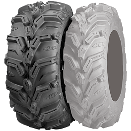 ITP Mud Lite XTR Rear Tire - 25x10-12 - 1996 Yamaha TIMBERWOLF 250 4X4 ITP T-9 Pro Baja Rear Wheel - 8X8.5 Black