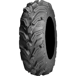 ITP Mud Lite XTR Front Tire - 25x8-12 - 1988 Honda TRX300 FOURTRAX 2X4 ITP Sandstar Rear Paddle Tire - 26x11-12 - Right Rear