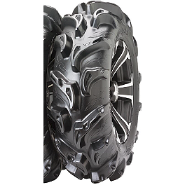 ITP Mega Mayhem Front / Rear Tire - 27x9-14 - 2013 Kawasaki BRUTE FORCE 750 4X4I EPS Motosport Alloys Kore Front Wheel - 14X7 Matte Black