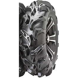 ITP Mega Mayhem Front / Rear Tire - 28x11-14 - 2003 Honda TRX450 FOREMAN 4X4 ITP SS312 Rear Wheel - 12X7 Machined Black