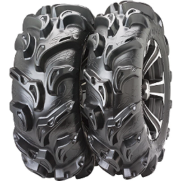 ITP Mega Mayhem Front / Rear Tire - 28x9-12 - 1992 Yamaha TIMBERWOLF 250 2X4 ITP SS112 Sport Rear Wheel - 10X8 3+5 Machined
