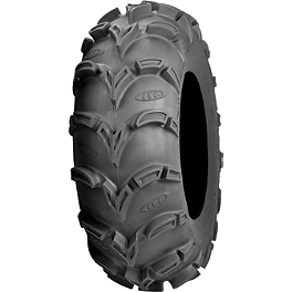 ITP Mud Lite XL Tire - 27x12-12 - 2010 Yamaha RHINO 700 Moose 387X Rear Wheel - 12X8 4B+4N Black