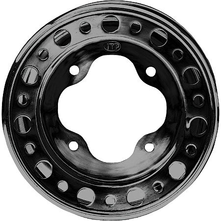 ITP T-9 Pro Baja Front Wheel - 10X5 3B+2N Black - Main