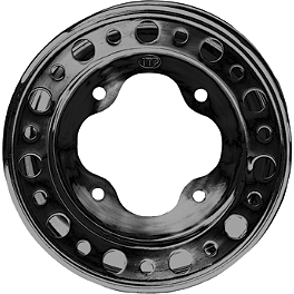 ITP T-9 Pro Baja Rear Wheel - 10X8 3B+5N Black - 2012 Yamaha RAPTOR 125 ITP SS112 Sport Front Wheel - 10X5 3+2 Machined