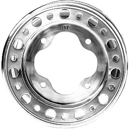 ITP T-9 Pro Baja Rear Wheel - 8X8.5 3B+5.5N - 1994 Yamaha YFM350ER MOTO-4 ITP SS Alloy Center Cap - Chrome