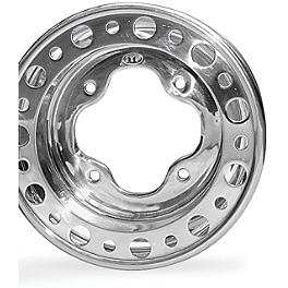 ITP T-9 Pro Baja Rear Wheel - 9X9 3B+6N - 2010 Yamaha RAPTOR 700 ITP T-9 GP Front Wheel - 3B+2N 10X5 Polished