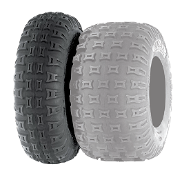 ITP Quadcross MX Pro Front Tire - 20x6-10 - 2007 Honda TRX450R (KICK START) ITP Sandstar Rear Paddle Tire - 22x11-10 - Left Rear