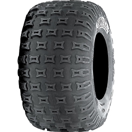ITP Quadcross MX Pro Lite Rear Tire - 18x10-8 - 2002 Polaris TRAIL BLAZER 250 ITP SS112 Sport Front Wheel - 10X5 3+2 Black